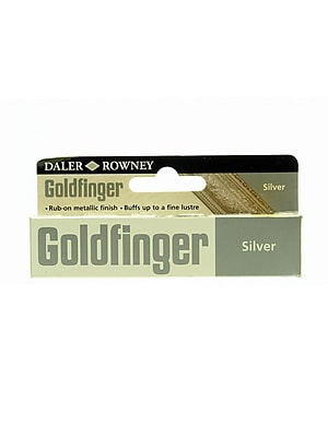 Daler-Rowney Goldfinger Decorative Metallic Paste, Imitation Silver, 22 Ml, Pack Of 2 (2PK-145008702)