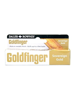 Daler-Rowney Goldfinger Decorative Metallic Paste, Sovereign Gold, 22 Ml, Pack Of 2 (2PK-145008675)