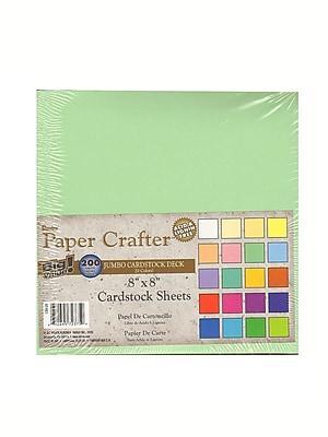 Darice Cardstock Value Pack 8 In. X 8 In. Pack Of 200 Sheets (1204-24)