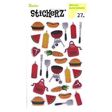 Darice Stickerz Cookout [Pack Of 12] (12PK-1214-14)