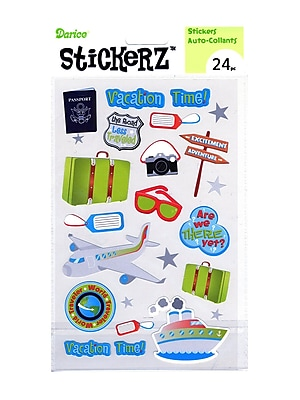 Darice Stickerz Vacation Time [Pack Of 12] (12PK-1214-16)