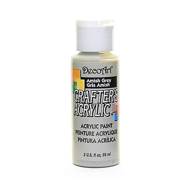 Decoart Crafters Acrylic 2 Oz Amish Gray [Pack Of 12] (12PK-DCA45-3)