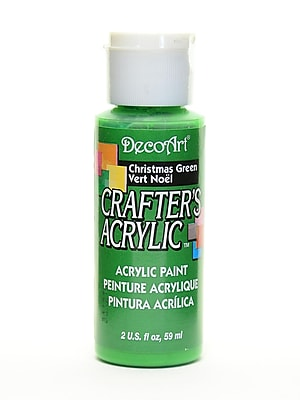 Decoart Crafters Acrylic 2 Oz Christmas Green [Pack Of 12] (12PK-DCA37-3)