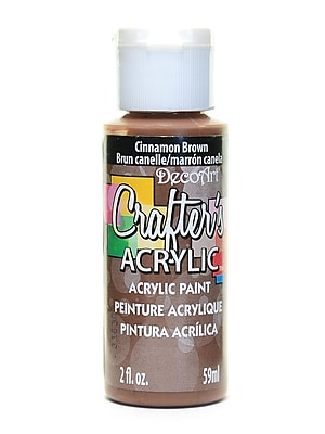 Decoart Crafters Acrylic 2 Oz Cinnamon Brown [Pack Of 12] (12PK-DCA12-3)