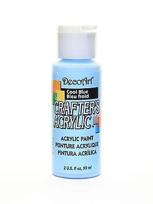 Decoart Crafters Acrylic 2 Oz Cool Blue [Pack Of 12] (12PK-DCA76-3)