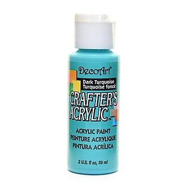 Decoart Crafters Acrylic 2 Oz Dark Turquoise [Pack Of 12] (12PK-DCA43-3)