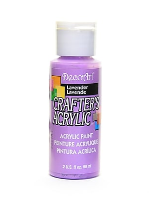 Decoart Crafters Acrylic 2 Oz Lavender [Pack Of 12] (12PK-DCA26-3)
