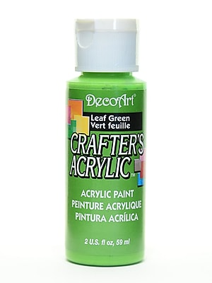 Decoart Crafters Acrylic 2 Oz Leaf Green [Pack Of 12] (12PK-DCA36-3)