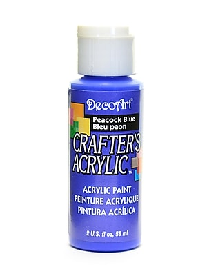Decoart Crafters Acrylic 2 Oz Peacock Blue [Pack Of 12] (12PK-DCA80-3)