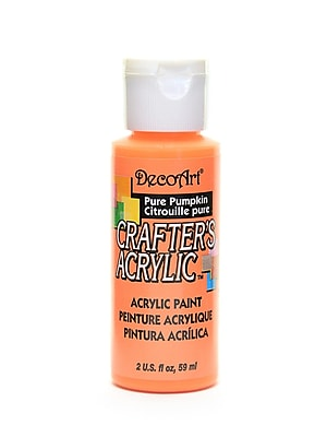 Decoart Crafters Acrylic 2 Oz Pure Pumpkin [Pack Of 12] (12PK-DCA08-3)