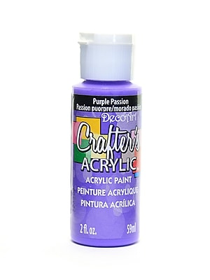 Decoart Crafters Acrylic 2 Oz Purple Passion [Pack Of 12] (12PK-DCA72-3)