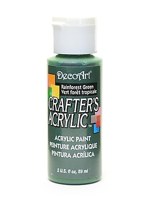 Decoart Crafters Acrylic 2 Oz Rainforest Green [Pack Of 12] (12PK-DCA91-3)