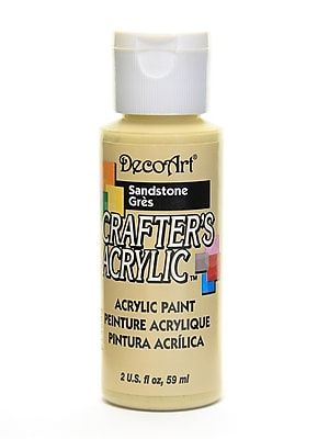 Decoart Crafters Acrylic 2 Oz Sandstone [Pack Of 12] (12PK-DCA14-3)