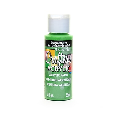Decoart Crafters Acrylic 2 Oz Shamrock Green [Pack Of 12] (12PK-DCA84-3)