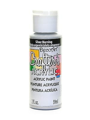 Decoart Crafters Acrylic 2 Oz Silver Morning [Pack Of 12] (12PK-DCA95-3)