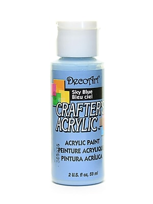 Decoart Crafters Acrylic 2 Oz Sky Blue [Pack Of 12] (12PK-DCA33-3)