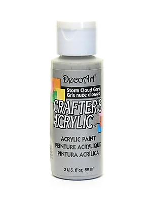 Decoart Crafters Acrylic 2 Oz Storm Cloud Gray [Pack Of 12] (12PK-DCA94-3)