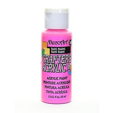Decoart Crafters Acrylic 2 Oz Tutti Frutti [Pack Of 12] (12PK-DCA120-3)