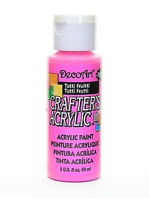 Decoart Crafters Acrylic 2 Oz Tutti Frutti [Pack Of 12] (12PK-DCA120-3)