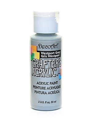 Decoart Crafters Acrylic 2 Oz Westport Gray [Pack Of 12] (12PK-DCA46-3)