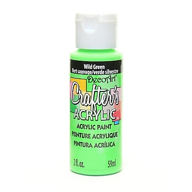 Decoart Crafters Acrylic 2 Oz Wild Green [Pack Of 12] (12PK-DCA85-3)