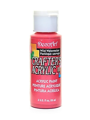 Decoart Crafters Acrylic 2 Oz Wild Watermelon [Pack Of 12] (12PK-DCA65-3)