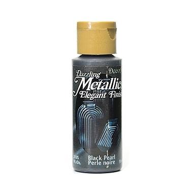 Decoart Dazzling Metallics Black Pearl [Pack Of 8] (8PK-DA127-3)