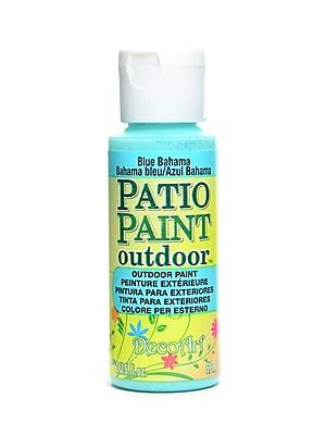 Decoart Patio Paint Blue Bahama 2 Oz. [Pack Of 8] (8PK-DCP63-3)