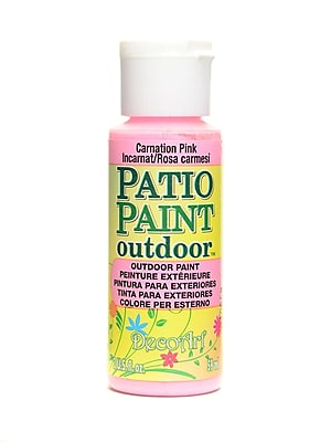 Decoart Patio Paint Carnation Pink 2 Oz. [Pack Of 8] (8PK-DCP41-3)