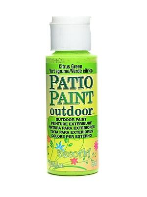 Decoart Patio Paint Citrus Green 2 Oz. [Pack Of 8] (8PK-DCP25-3)