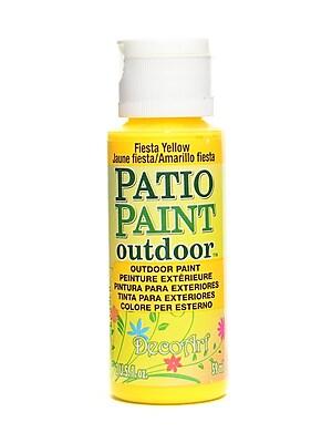 Decoart Patio Paint Fiesta Yellow 2 Oz. [Pack Of 8] (8PK-DCP28-3)