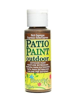 Decoart Patio Paint Rich Espresso 2 Oz. [Pack Of 8] (8PK-DCP401-3)
