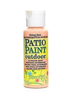 Decoart Patio Paint Vintage Rose 2 Oz. [Pack Of 8] (8PK-DCP61-3)