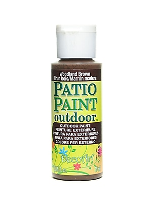 Decoart Patio Paint Woodland Brown 2 Oz. [Pack Of 8] (8PK-DCP18-3)