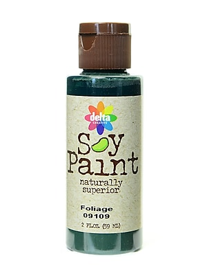 Delta Soy Paint 2 Oz. Bottles Foliage [Pack Of 8] (8PK-09109)