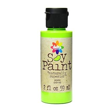 Delta Soy Paint 2 Oz. Bottles Kiwi [Pack Of 8] (8PK-09116)
