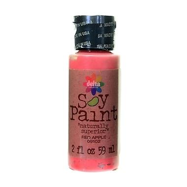 Delta Soy Paint 2 Oz. Bottles Red Apple [Pack Of 8] (8PK-09102)