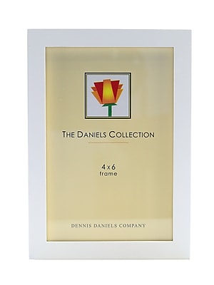 Dennis Daniels Gallery Woods Essential Frames 4 In. X 6 In. White [Pack Of 2] (2PK-W4104W)