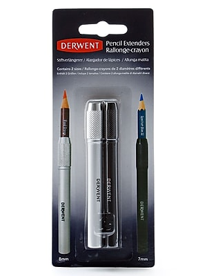 Derwent Pencil Extenders Pack Of 2 (2300924)