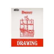 Discovery Drawing Pads 8 In. X 10 In. [Pack Of 6] (6PK-TA0001)