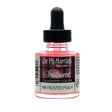 Dr. Ph. Martin'S Iridescent Calligraphy Colors 1 Oz. Frosted Peach [Pack Of 2] (2PK-400070-18R)