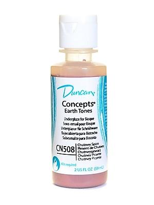 Duncan Concepts Underglaze Chutney Spice Cn508 2 Oz. [Pack Of 4] (4PK-CN508-2 28266)