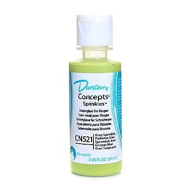 Duncan Concepts Underglaze Kiwi Sprinkles Cn521 2 Oz. [Pack Of 4] (4PK-CN521-2 28641)