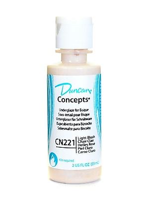 Duncan Concepts Underglaze Light Blush Cn221 2 Oz. [Pack Of 4] (4PK-CN221S-2 98872)