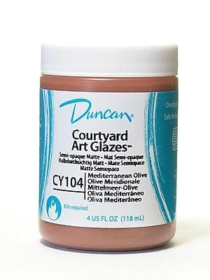 Duncan Courtyard Art Glazes Mediterranean Olive [Pack Of 4] (4PK-CY104-4 80380)