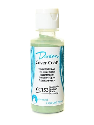 Duncan Cover-Coat Opaque Underglazes Avocado 2 Oz. [Pack Of 4] (4PK-CC153-2 91789)
