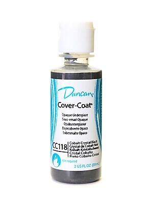Duncan Cover-Coat Opaque Underglazes Cobalt Crystal Black 2 Oz. [Pack Of 4] (4PK-CC118-2 91742)