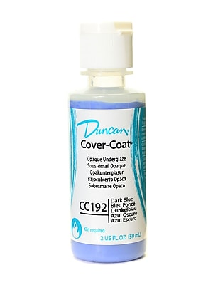 Duncan Cover-Coat Opaque Underglazes Dark Blue 2 Oz. [Pack Of 4] (4PK-CC192-2 81239)