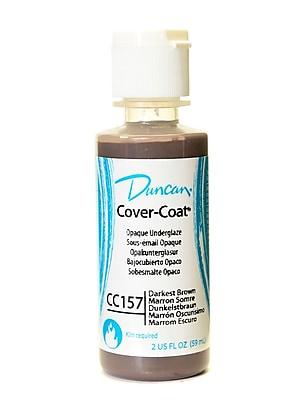 Duncan Cover-Coat Opaque Underglazes Darkest Brown 2 Oz. [Pack Of 4] (4PK-CC157-2 91795)