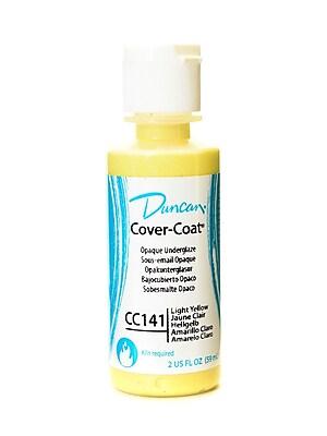 Duncan Cover-Coat Opaque Underglazes Light Yellow 2 Oz. [Pack Of 4] (4PK-CC141-2 91771)